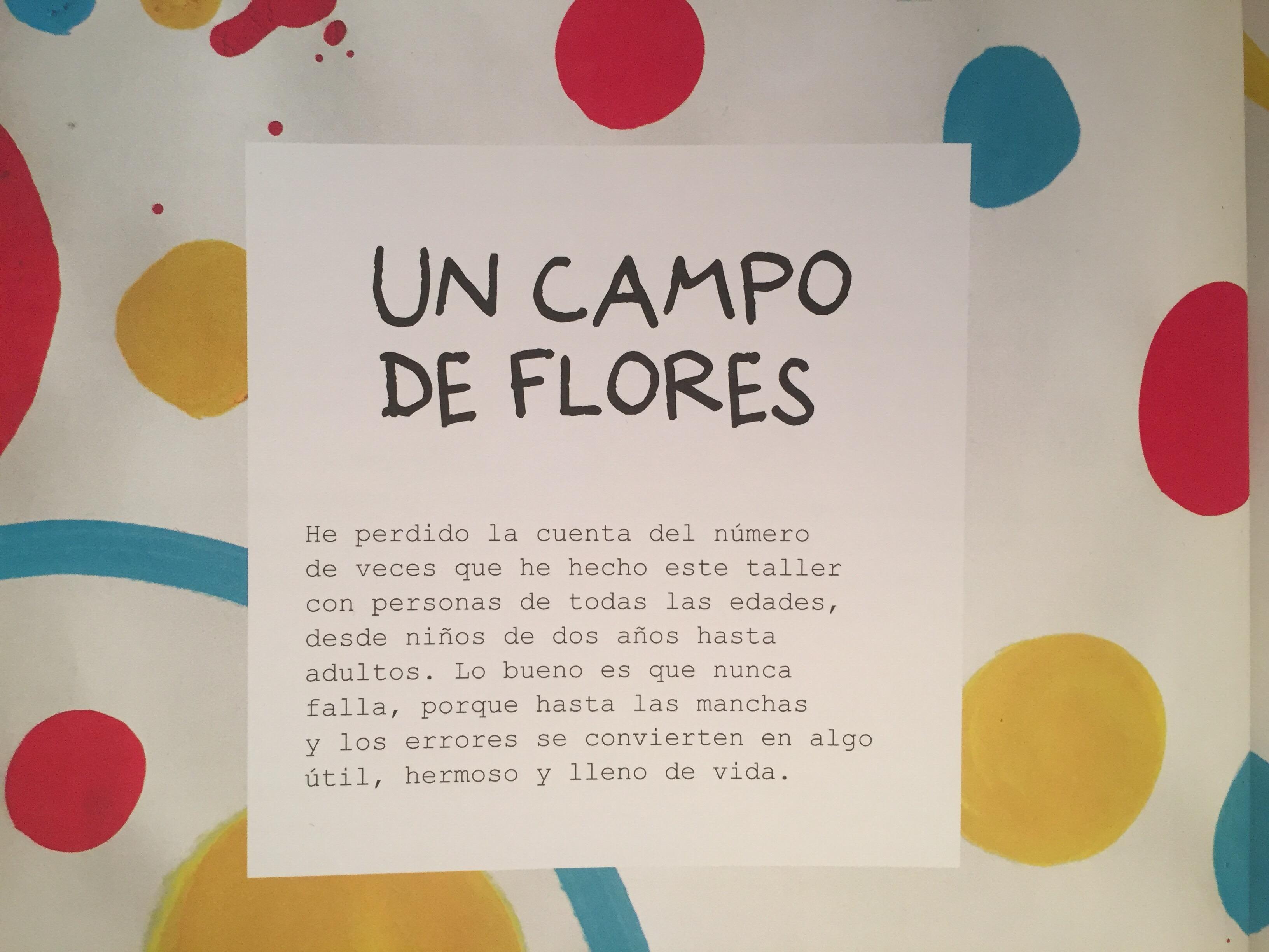 Resultado de imagen de un campo de flores herve tullet